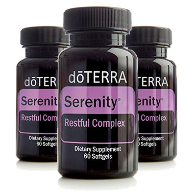 3 Bottles of doTERRA Serenity