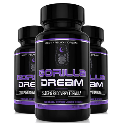 3 bottles of Gorilla Dream