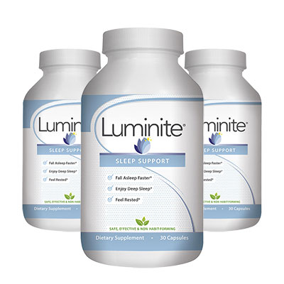 3 Bottles of Luminite