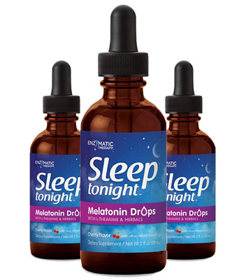 3 bottles of Enzymatic Therapy Sleep Tonight