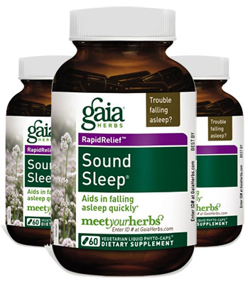 3 Bottles of Gaia Sound Sleep