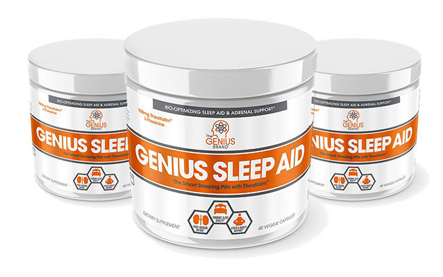 3 Tubs of Genius Sleep Aid