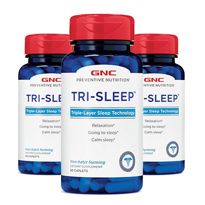 3 bottles of GNC TRI-SLEEP