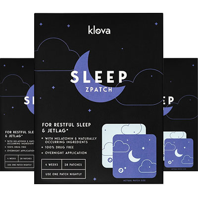 3 boxes of Klova Sleep Patches