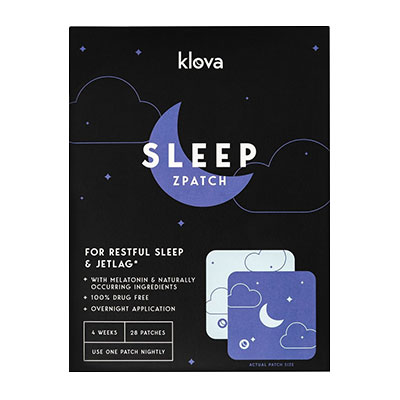 Klova Sleep Patch Box and Design