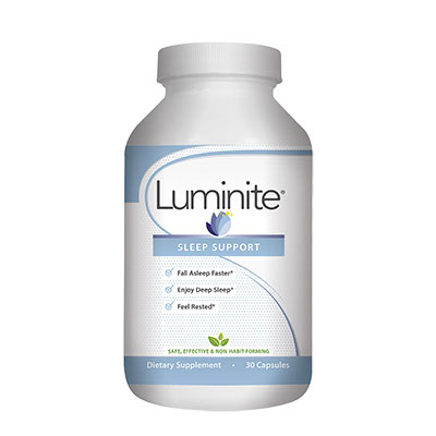 Luminite bottle