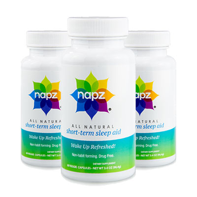 3 Bottles of Napz Sleep Aid