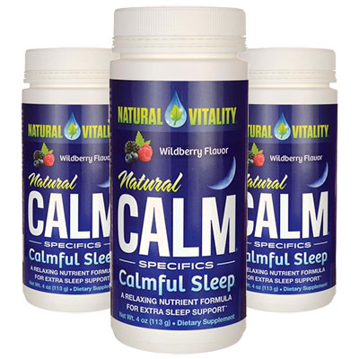3 Bottles of Natural Calmful Sleep