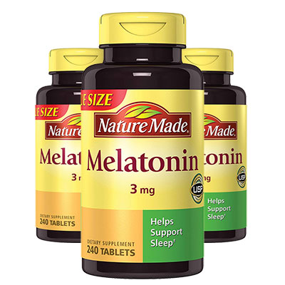 Nature Made Melatonin (3 Bottles)