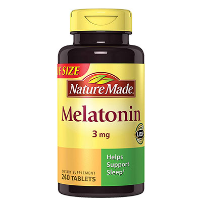 1 Bottle Nature Made Melatonin