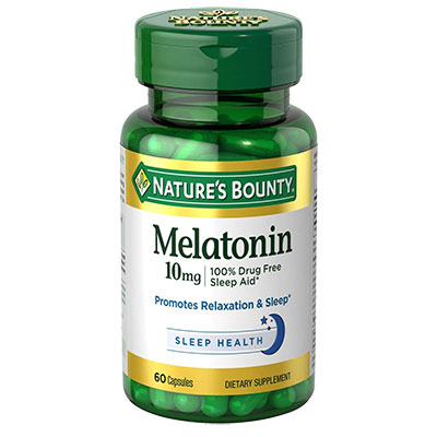 1 Bottle of Nature's Bounty Melatonin