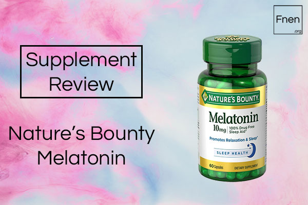 Nature's Bounty Melatonin Review