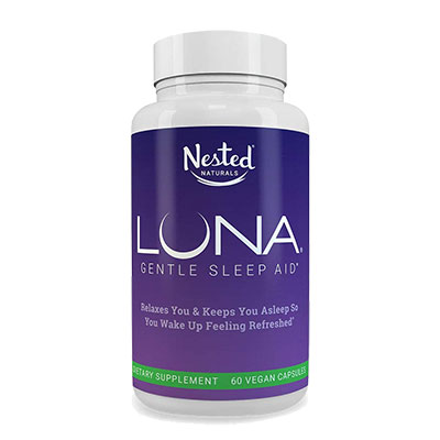 Luna Sleep Aid Bottle