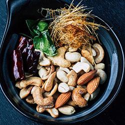 Magnesium - found in nuts
