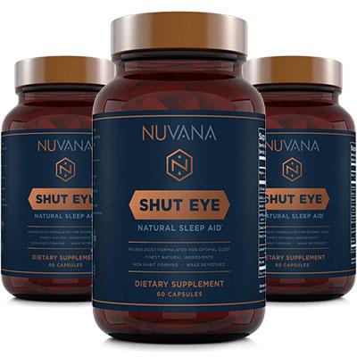 3 Bottles of Nuvana Shut Eye