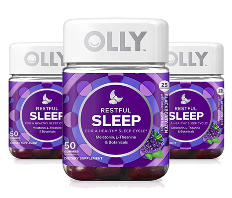3 Bottles of Olly Restful Sleep