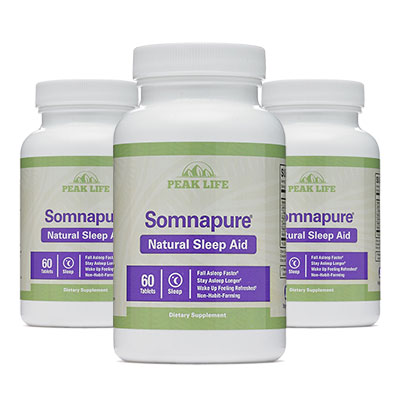 3 Bottles of Somnapure