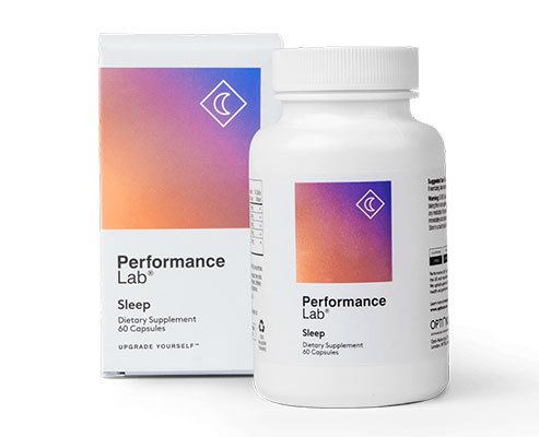Bottle of Performance Lab Sleep with Box
