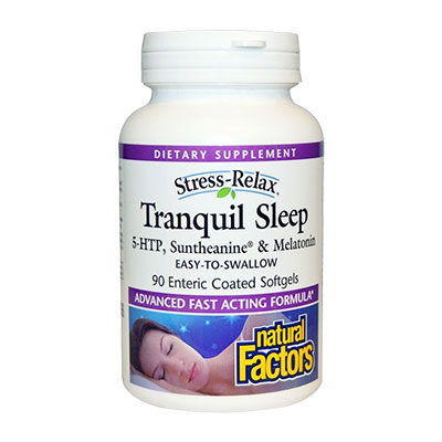 Stress Relax Tranquil Sleep (by Natural Factors)