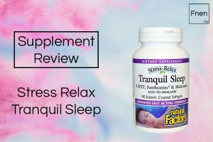 Stress Relax Tranquil Sleep Review