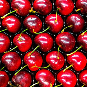 Punnet of Tart Cherries