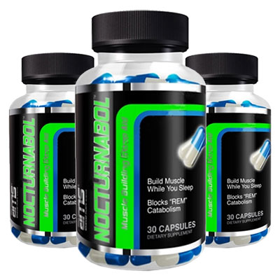 3 bottles of Advanced Muscle Science Nocturnabol